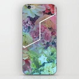 Floral Hexagon iPhone Skin