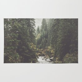 Mountain creek - Landscape and Nature Photography Rug