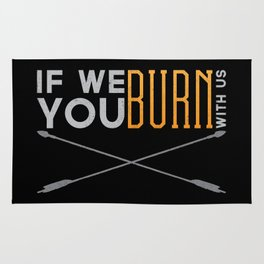 If We Burn Rug