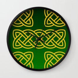 Celtic Knots Wall Clock