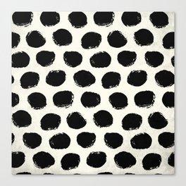 Urban Polka Dots Canvas Print