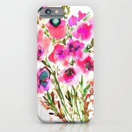 Bouquet Pink iPhone Case