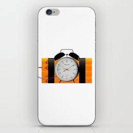 Time Bomb iPhone Skin