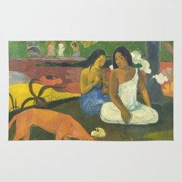 Arearea by Paul Gauguin Rug