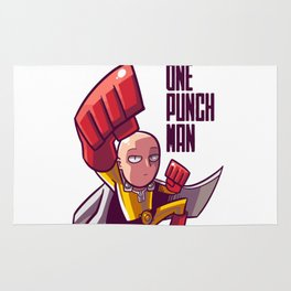 one punch man Rug