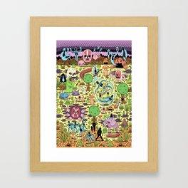 Ghost World Framed Art Print