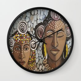 Tribe Wall Clock