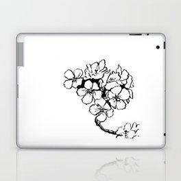 Cherry Blossom Ink Drawing  Laptop & iPad Skin
