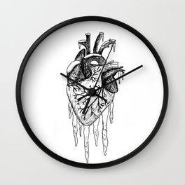 Coldest of Hearts Wall Clock