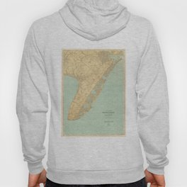 Vintage Map of Cape May NJ (1888) Hoody