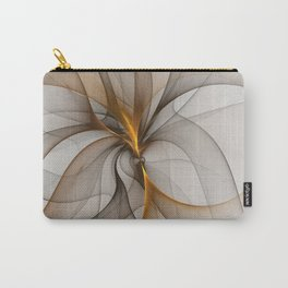 Elegant Chaos, Abstract Fractal Art Carry-All Pouch