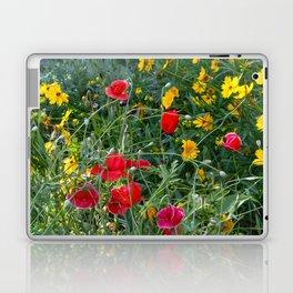 Wildflower Meadow Laptop & iPad Skin