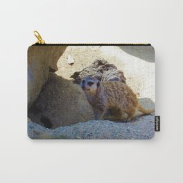 Meerkat at the Zoo Carry-All Pouch