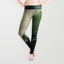 Mists In The Pitons: St. Lucia Leggings