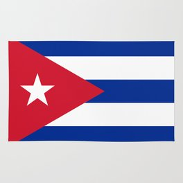 National flag of Cuba - Authentic version Rug