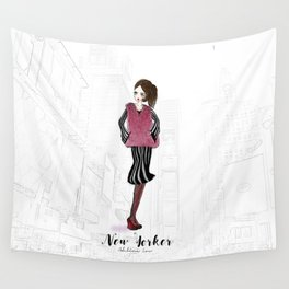 New Yorker Wall Tapestry