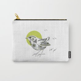 Bush Wren Xenicus Longipes Carry-All Pouch