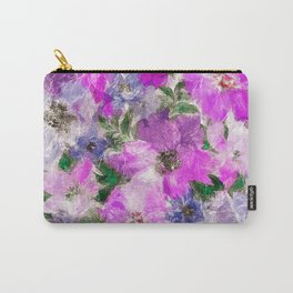 Splendid Flowers Carry-All Pouch
