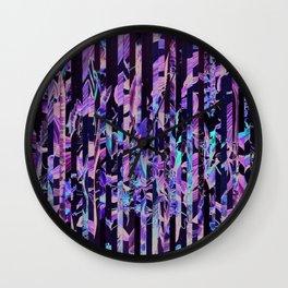 Flowr_02 Wall Clock