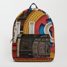 Chicago letters Backpack