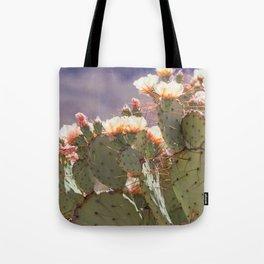 Prickly Pear Blooms I Tote Bag
