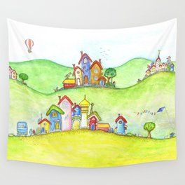 The hills Wall Tapestry