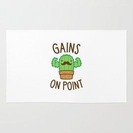 Gains On Point (Cactus Pun) Rug