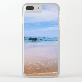 Fort Bragg Color Clear iPhone Case