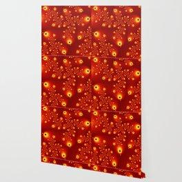 Fractal The Red Firmament Wallpaper