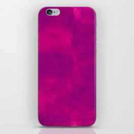 Pink and Purple Abstract iPhone Skin