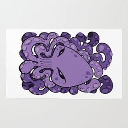 Octopus Squid Kraken Cthulhu Sea Creature - Ultra Violet Rug