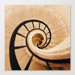 Panthéon Steps Canvas Print