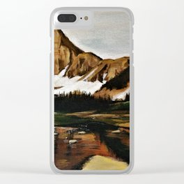 lakefront views Clear iPhone Case