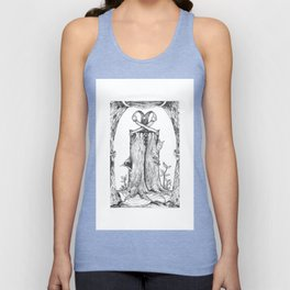 Haunted Clothing- The Eternal Wooden Pants Unisex Tank Top