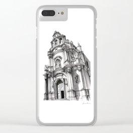 Chiesa di San Giuseppe - Ragusa Clear iPhone Case