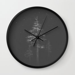 Twenty Five Light Years Wall Clock