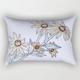 Yellow daisy Rectangular Pillow