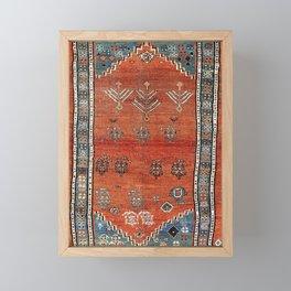 Bakhshaish Azerbaijan Northwest Persian Carpet Print Framed Mini Art Print