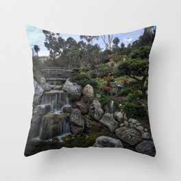Japanese Friendship Gardens, Balboa Park, San Diego Throw Pillow
