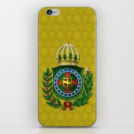 Dom Pedro II Coat of Arms iPhone Skin
