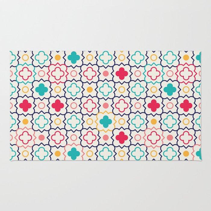 Cute Eastern Pattern Rug