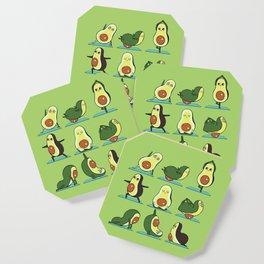 Avocado Yoga Coaster