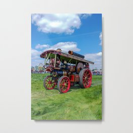 """Showmans Engine """"Lord Nelson"""" Metal Print"""