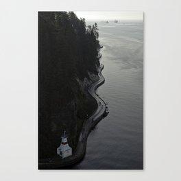Stanley Park Sea Wall Canvas Print