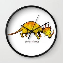 Styracosaurus Wall Clock