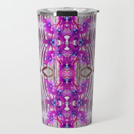 Tropical floral and plants No1 Tropical Life Collection by Dawid Roc Travel Mug