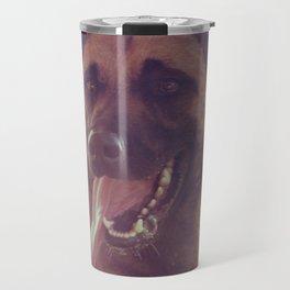 Malinios Beauty dog picture Travel Mug