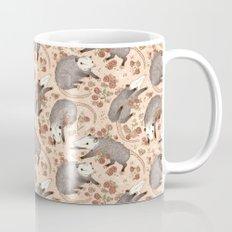 Opossum and Roses Mug