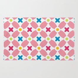 Holand Flower Garden Pattern Rug