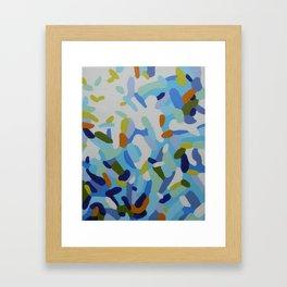 Sea Glass Framed Art Print